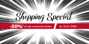 Shopping Special in Landshut & Ludwigsburg