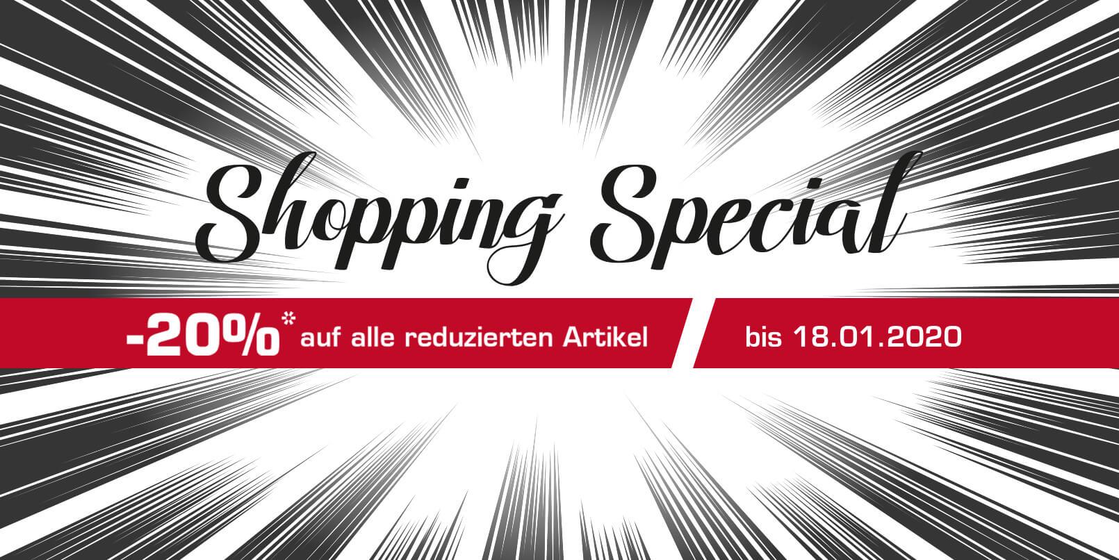 Shopping Special in Landshut & Ludwigsburg