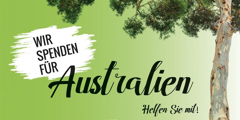 Wir spenden für Australien – Helfen Sie mit!