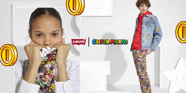 Next level: Levi´s x Super Mario™