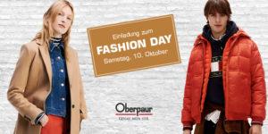 Einladung zum Fashion Day – Samstag, 10.10.