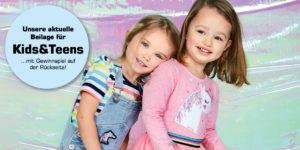 Unsere aktuelle Beilage: Mode für Kids und Teens!