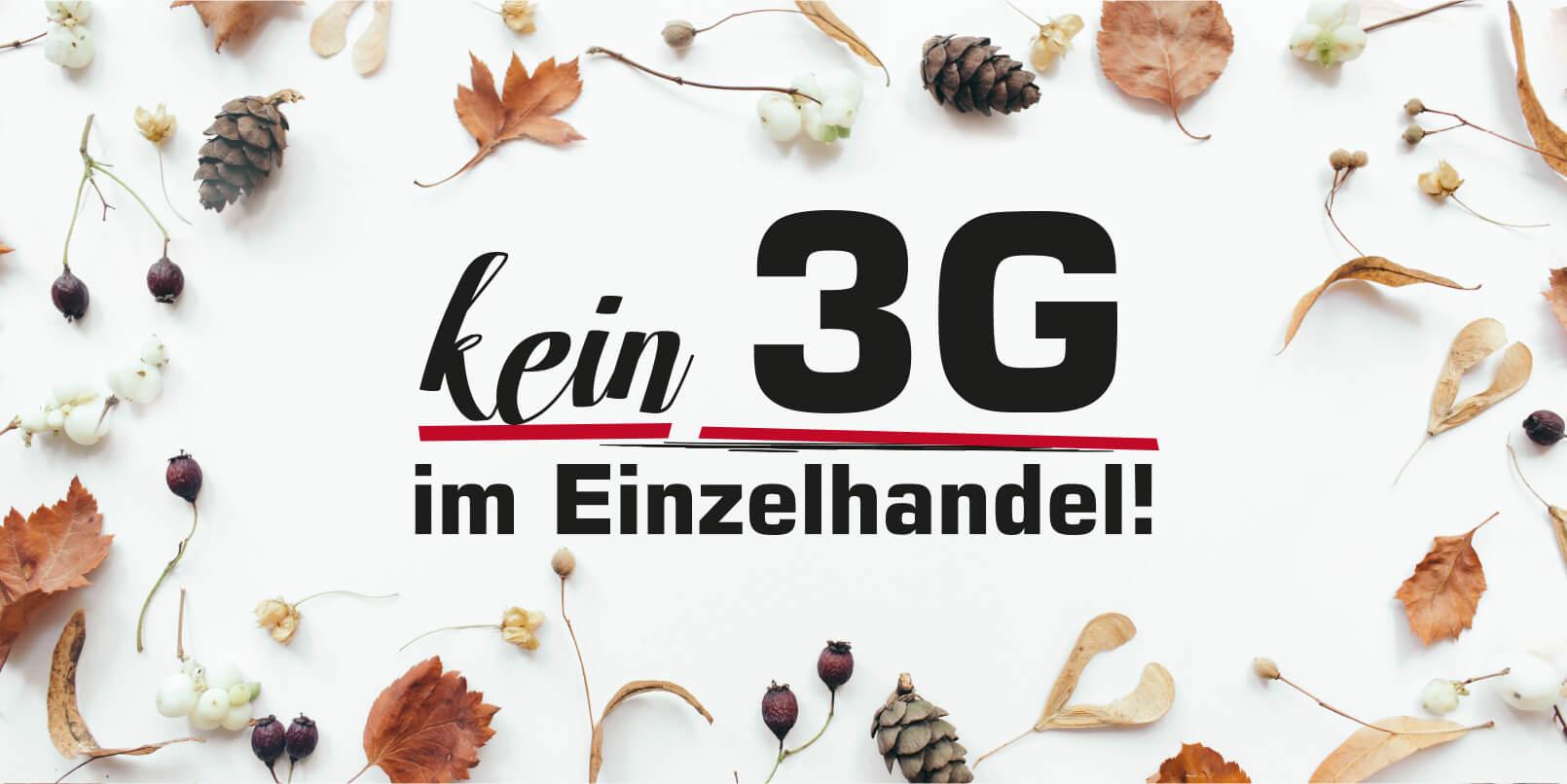 Kein 3G im Einzelhandel!