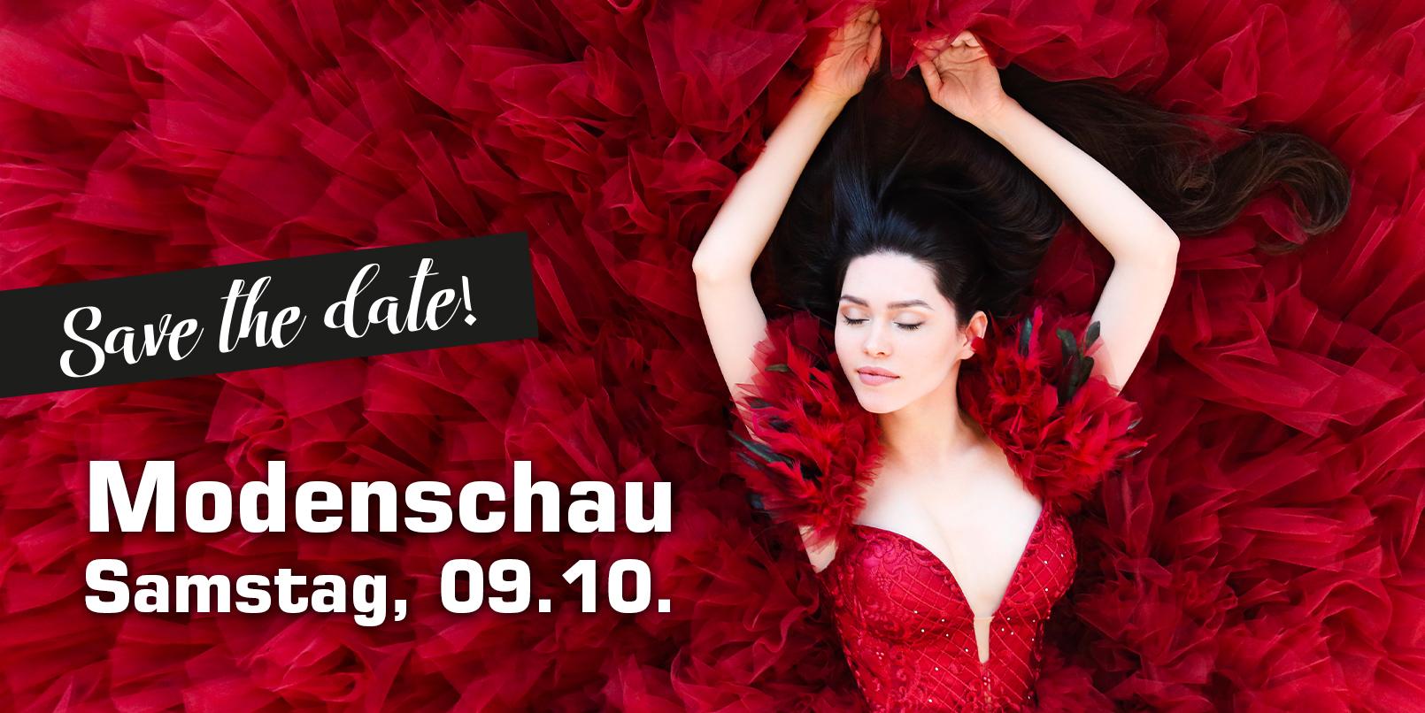 Read more about the article Einladung zur Modenschau am Samstag, 09. Oktober!
